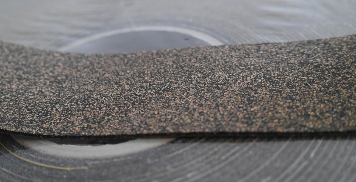 Cork Rubber Roller Covering